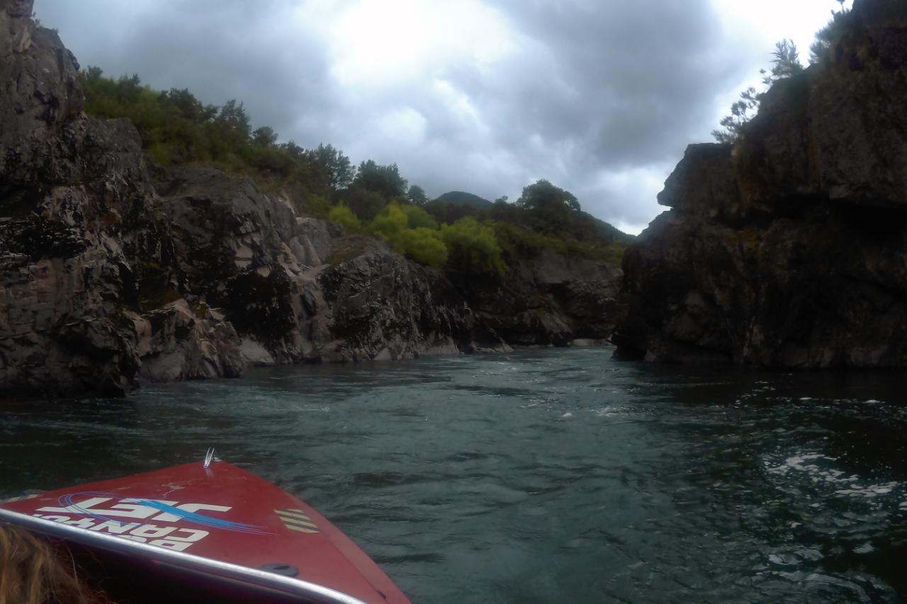 Neben, über und auf dem Buller River