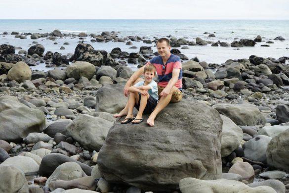 Vom Mount Taranki in die Region Manawatu