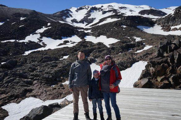 Endlich im Tongariro Nationalpark