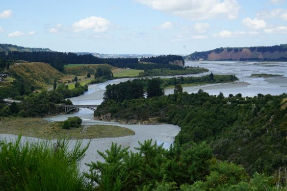 Rakaia Gorge Walkway und Lake Tekapo