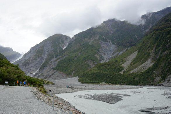 Fox und Franz Josef Gletscher