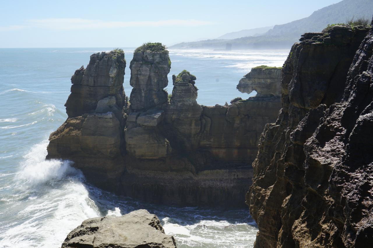 Pancake Rocks und Rapahoe